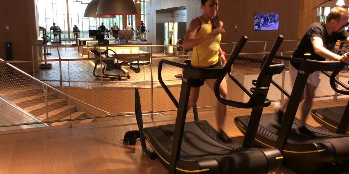 skill mill treadmill running indoors gym workout