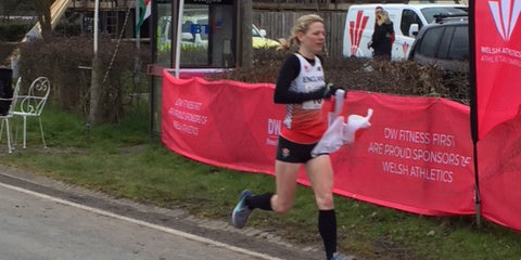 Sophie Carter ultra running 100km championships