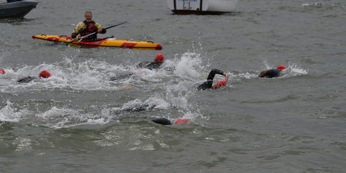 Southend Triathlon open water swim Essex