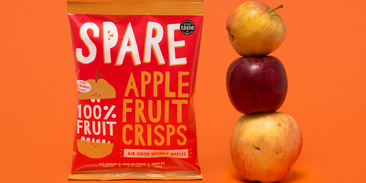 Spare Snacks fruit crisps healthy snack review