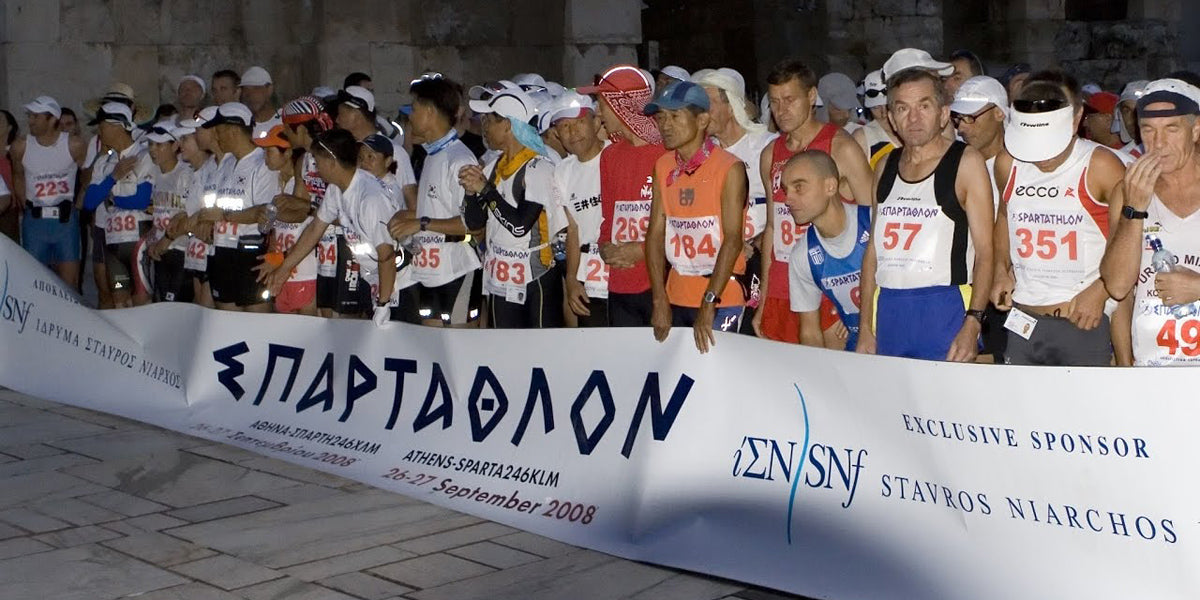 Spartathlon historic ultra marathon Greece