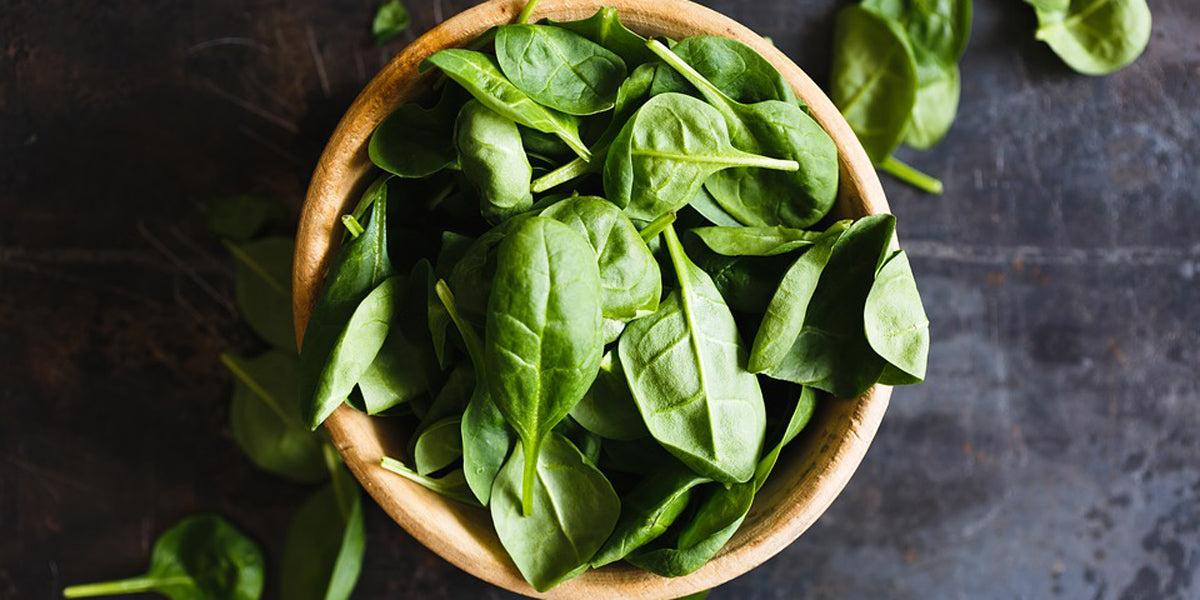 spinach healthy food nutrition clean eating