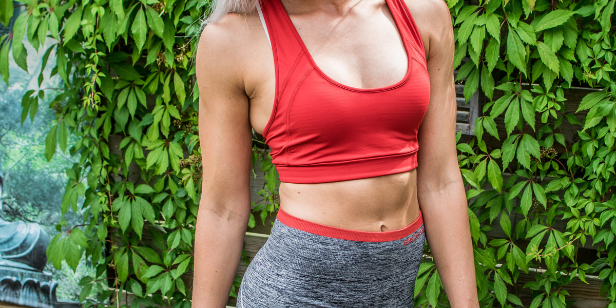 Yoga pants gym leggins sports bra