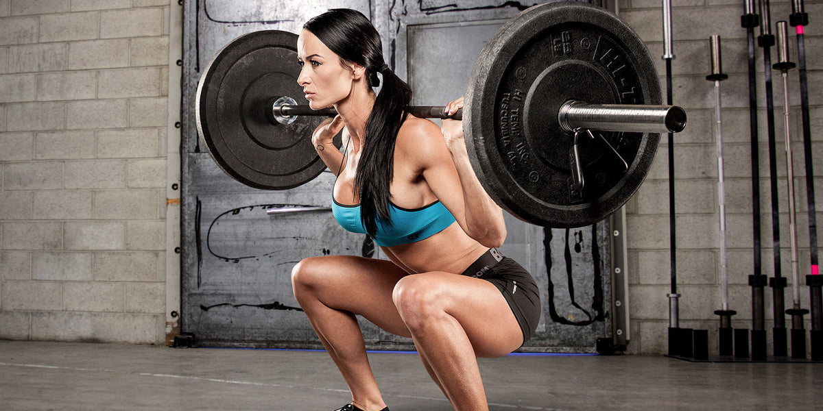 Squat barbell workout fitness Sundried