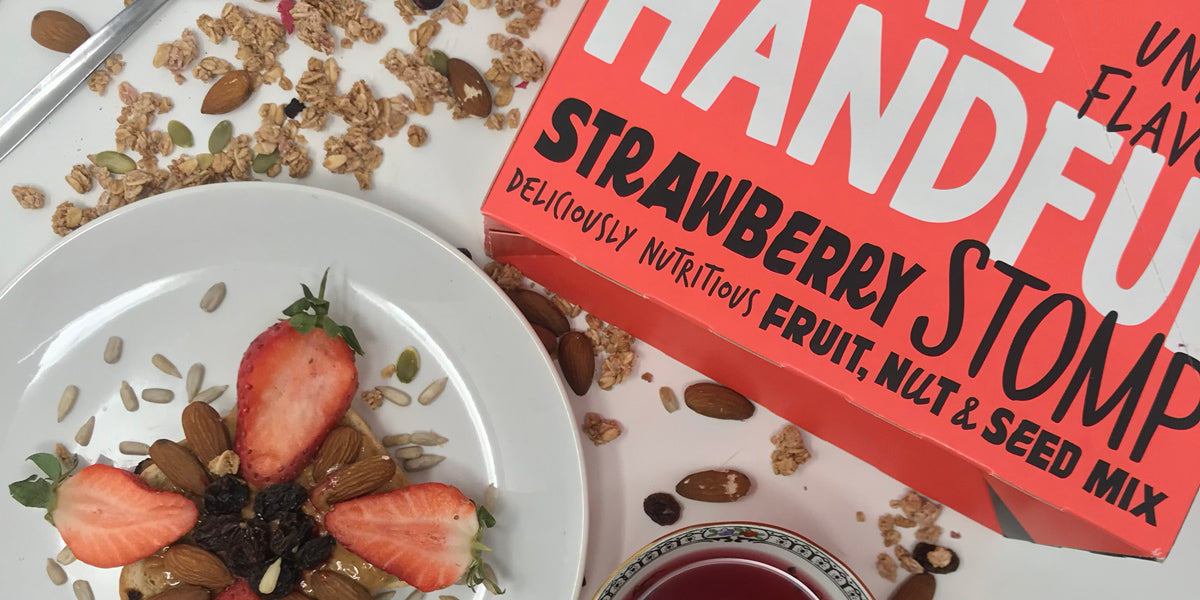 Strawberry Stomp nuts seeds fruit healthy snacks review