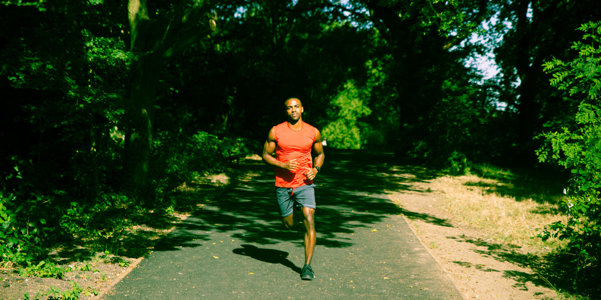 summer running outdoor workout