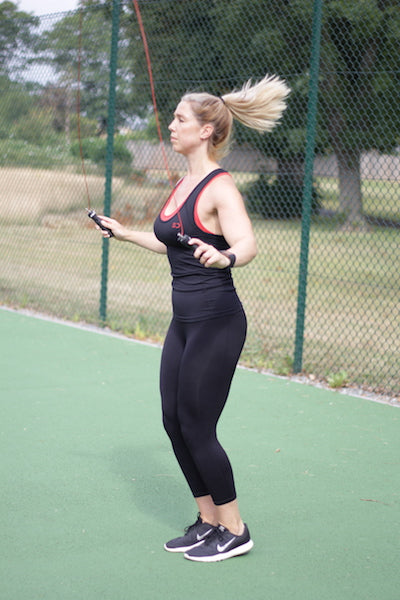skipping jump rope lose weight burn fat