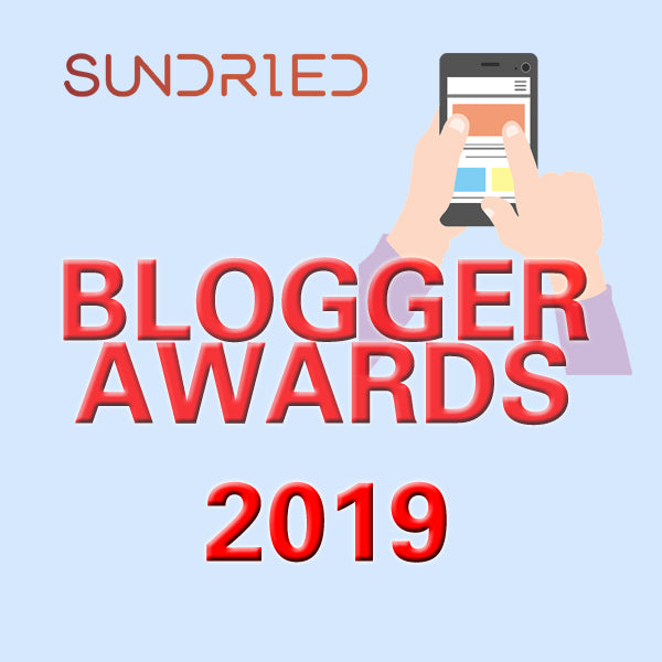 Sundried Blogger Awards 2019