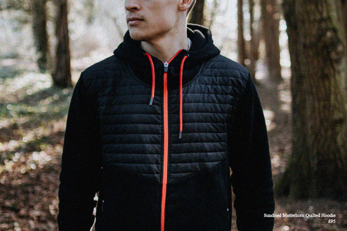 Sundried men's hoodie outdoor fitness
