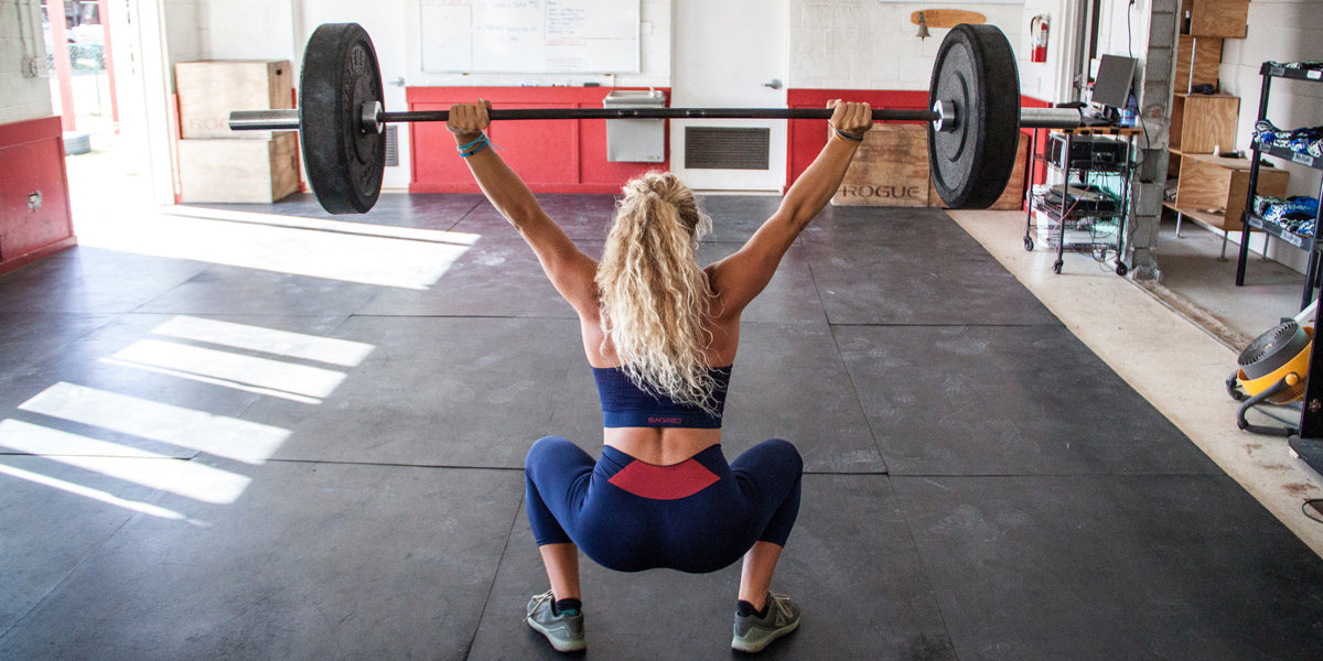 Sundried Olympic Weightlifting Overhead Squat CrossFit Heart Rate