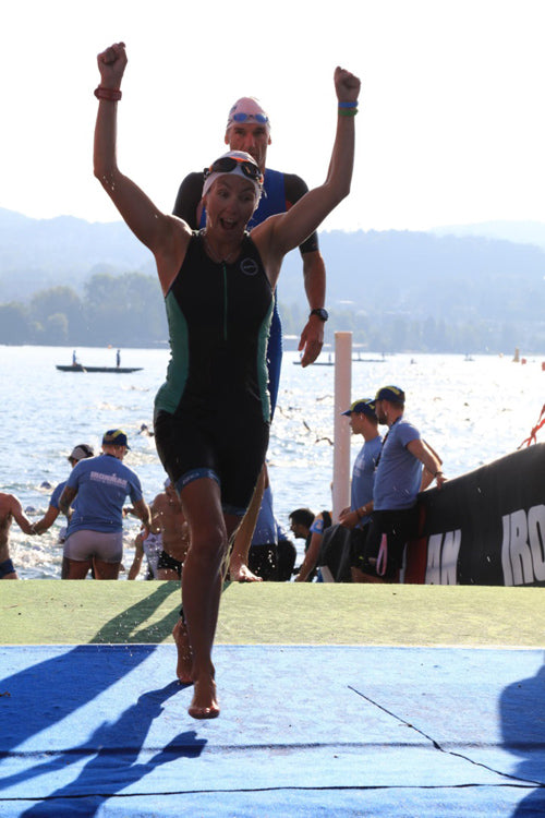 Ironman Switzerland Zurich swim Lake