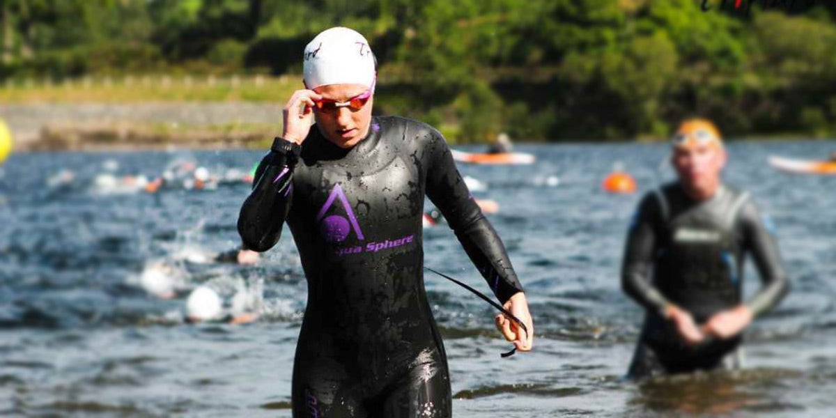 swimmer open water triathlon