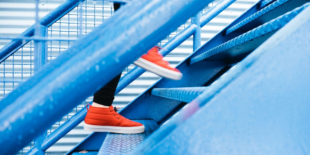 take the stairs get fit lose weight