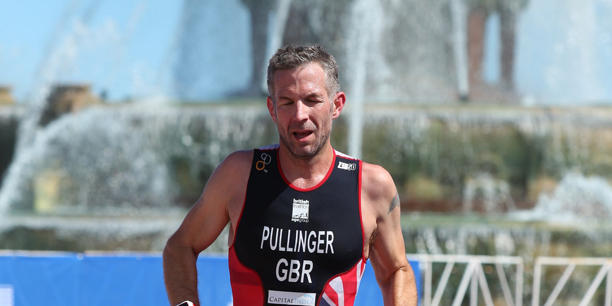 Tom Pullinger running competing racing Team GB