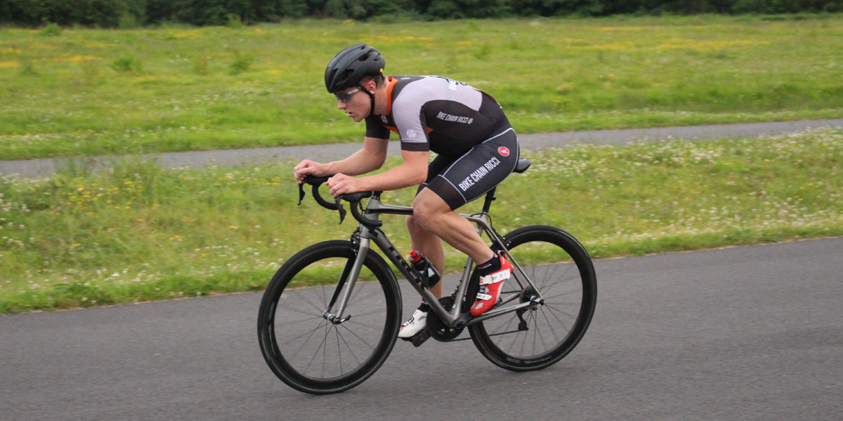 triathlete cycling racing Sundried