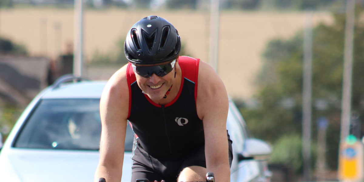 triathlete cycling Sundried activewear