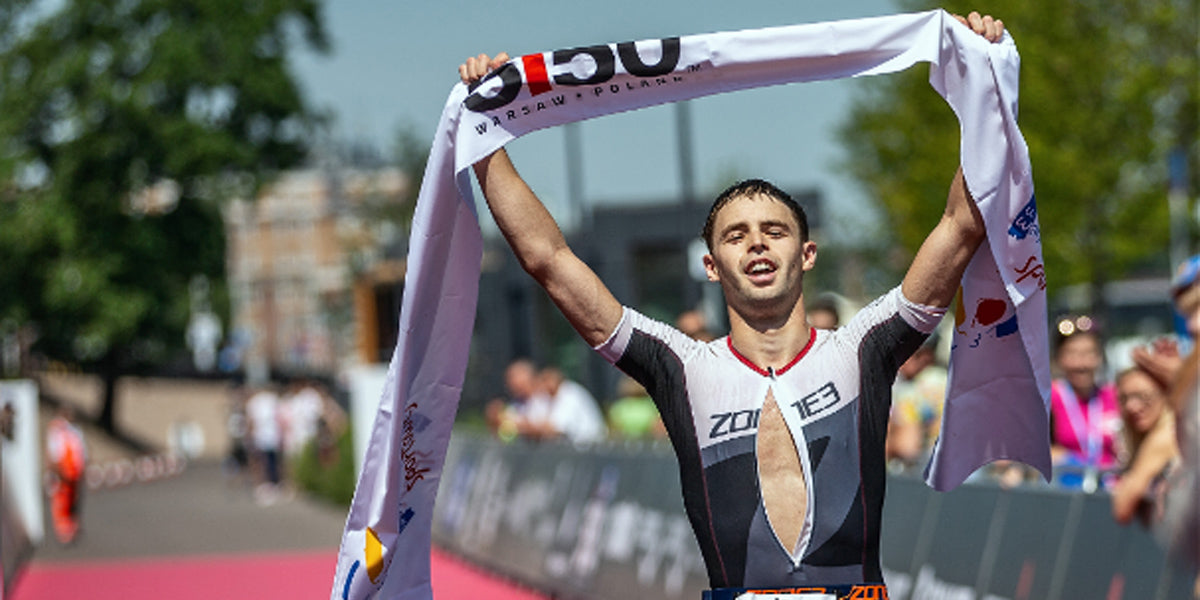 triathlete finisher winner Ironman Warsaw 5150