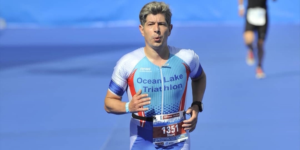 Sundried ambassador triathlete running racing