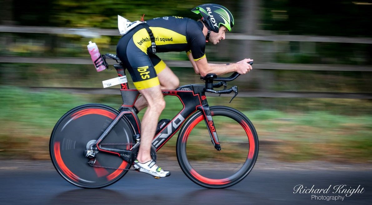 triathlete cycling competing racing F3 Events