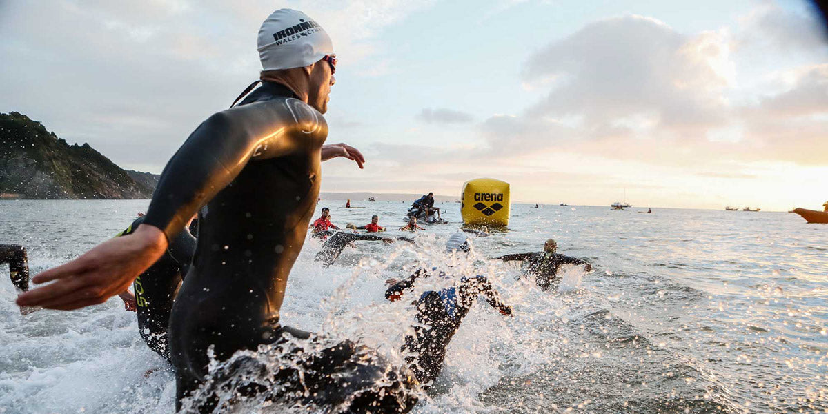 triathlon swimming open water