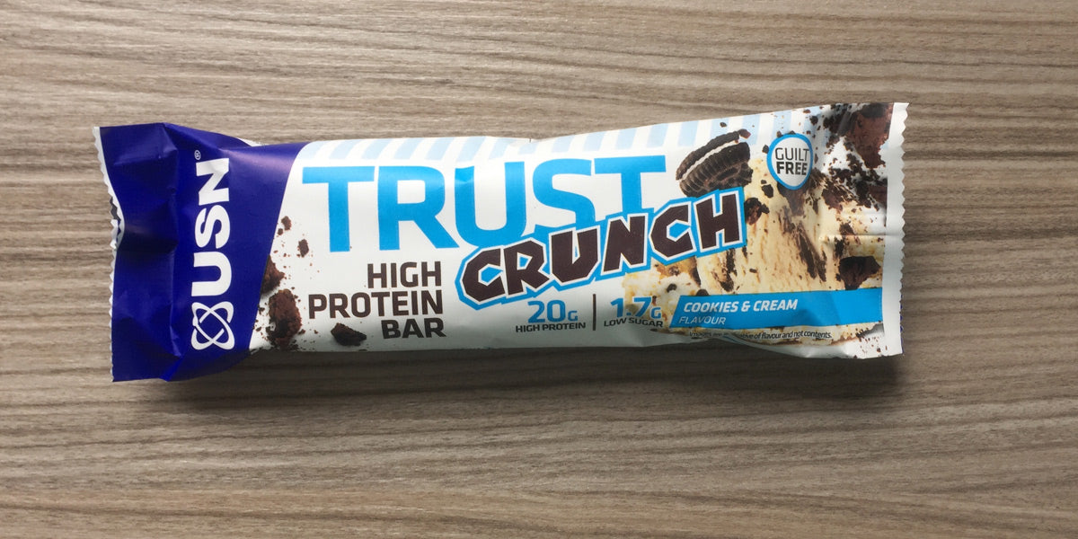 USN Trust Crunch Protein Bar Review Sundried