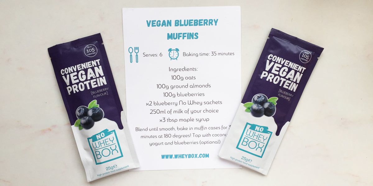 vegan blueberry muffin recipe