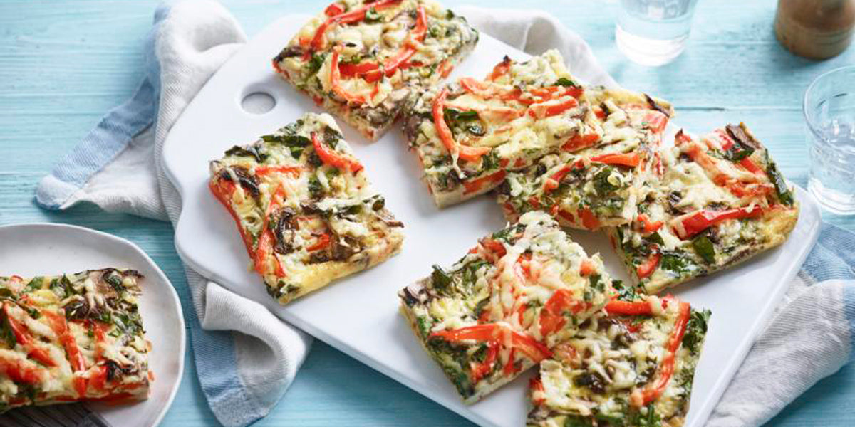 veggie breakfast frittata protein healthy cheap meal ideas