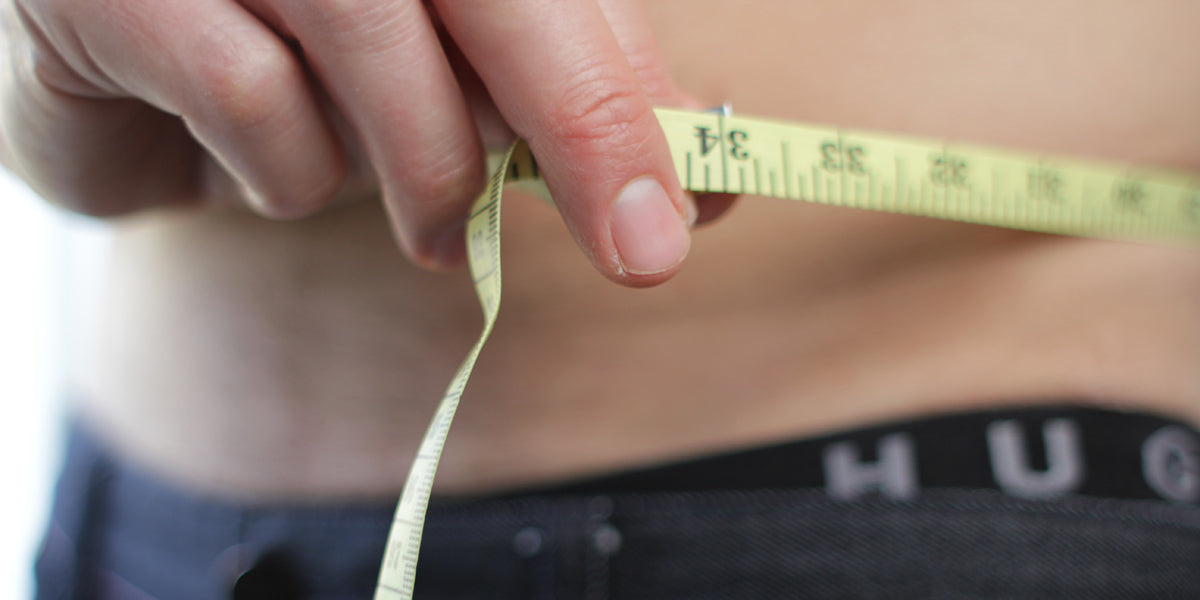 waist measure weight loss diet