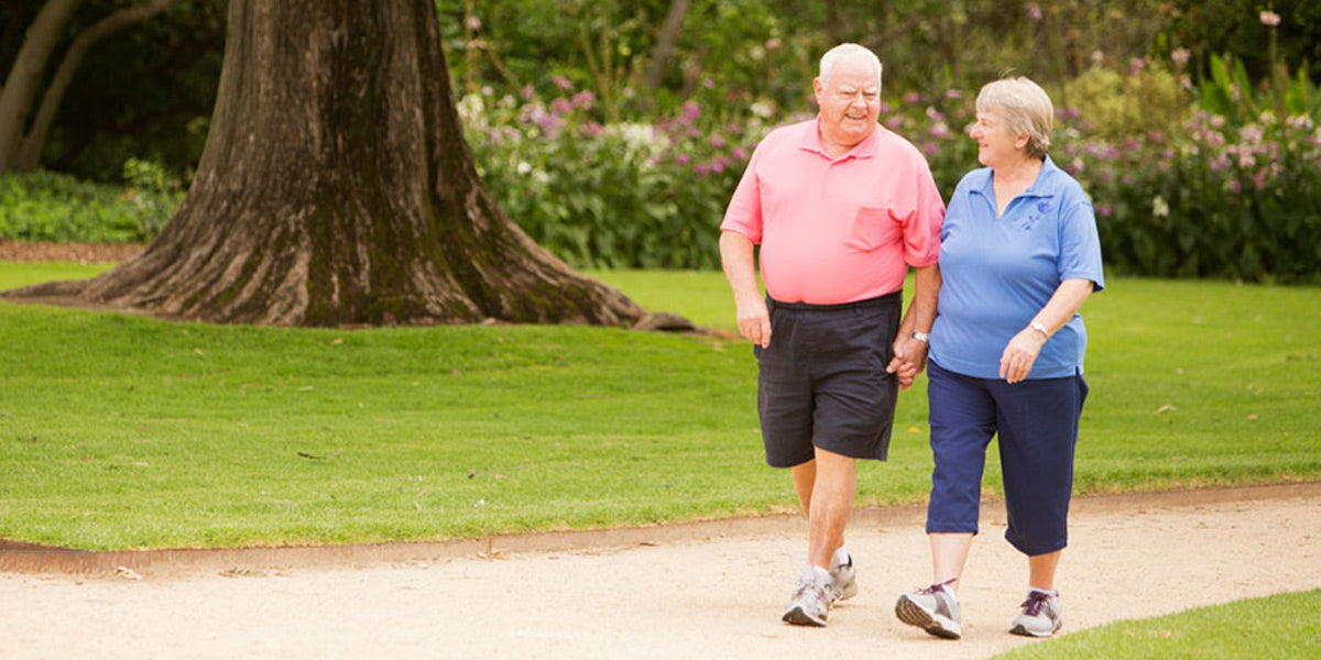 walking for fitness as you age