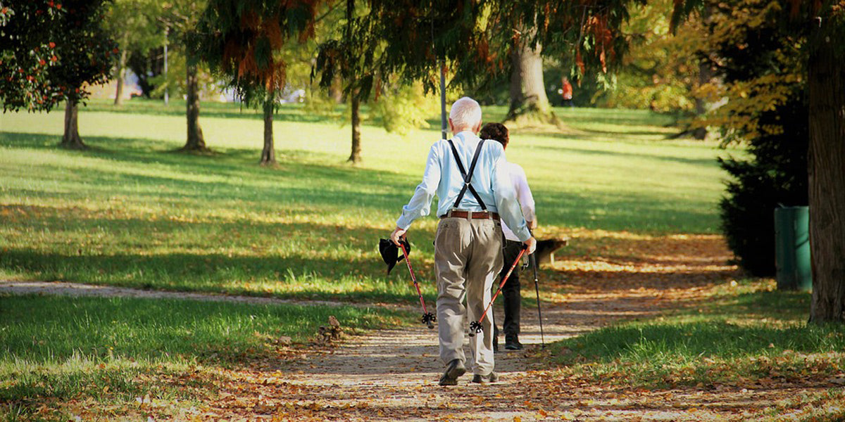 walking health wellness fitness old age