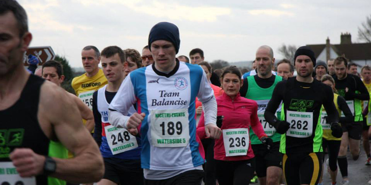 Waterside 10k running race