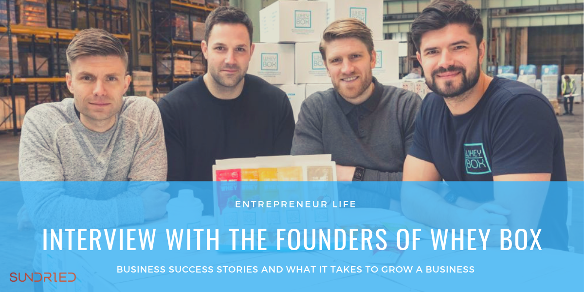 Whey Box founders interview entrepreneurs success business