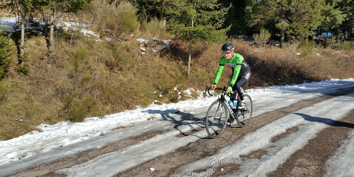 Winter training cycling running triathlon cold weather