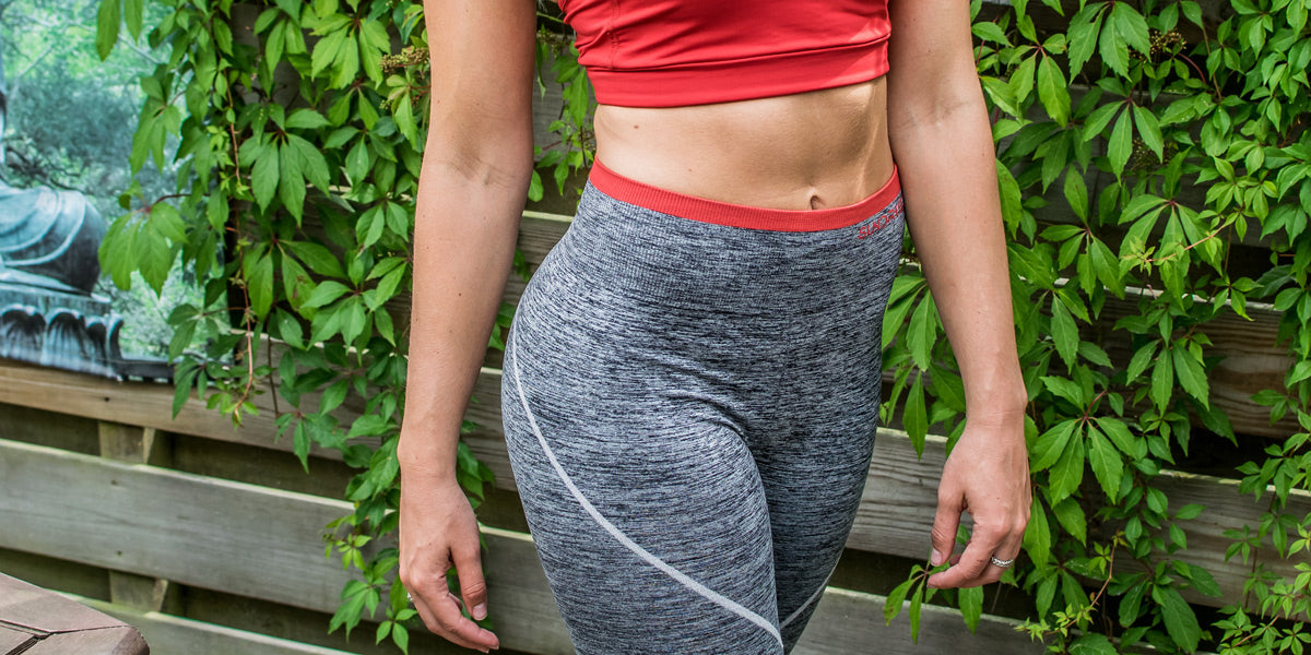 Sundried high waisted womens running leggings