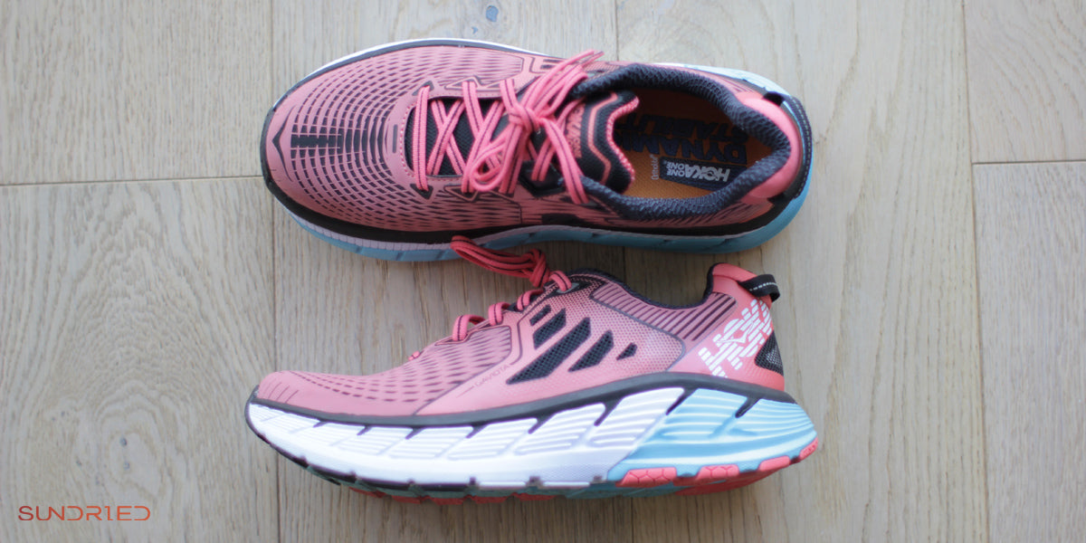 Hoka Running Trainers Review Gaviota Sundried