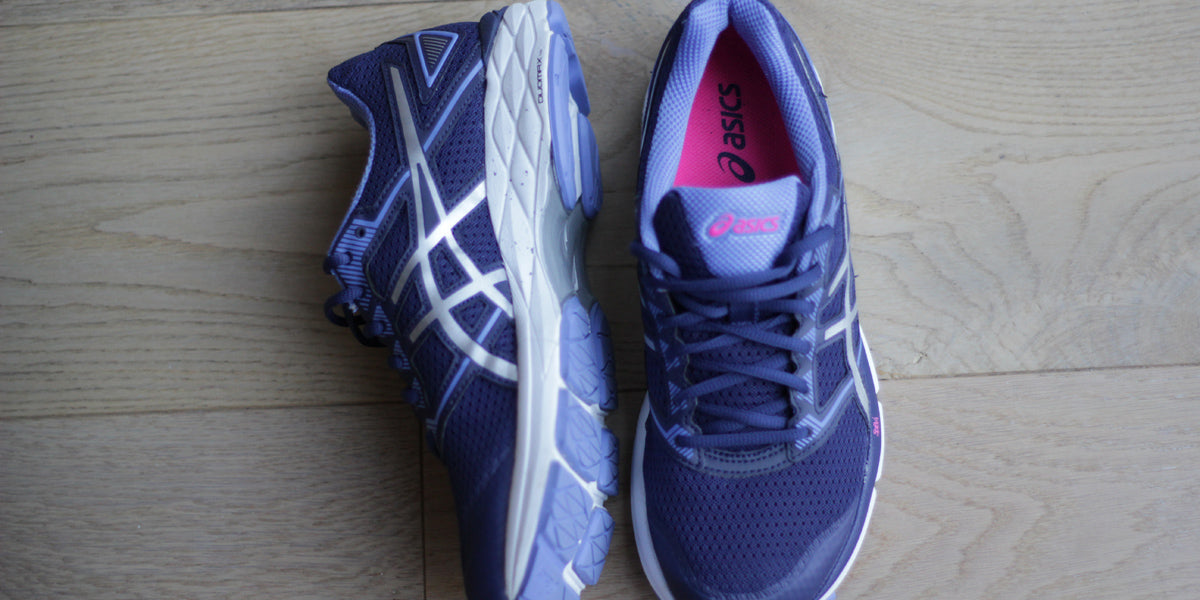 Asics womens running trainers new gym shoes