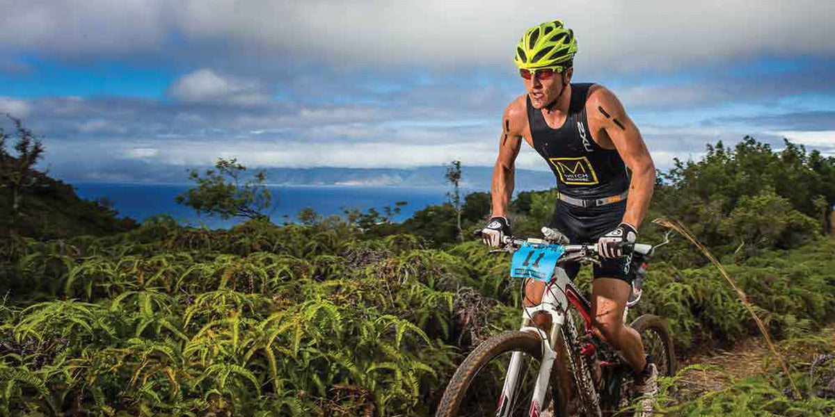 Xterra cross triathlon off road cross country