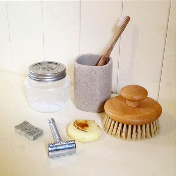 zero waste beauty bathroom clutter sustainability