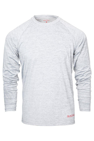 Sundried Pursuit Men's Base Layer T-Shirt XXL Grey SD0143 XXL Grey Activewear