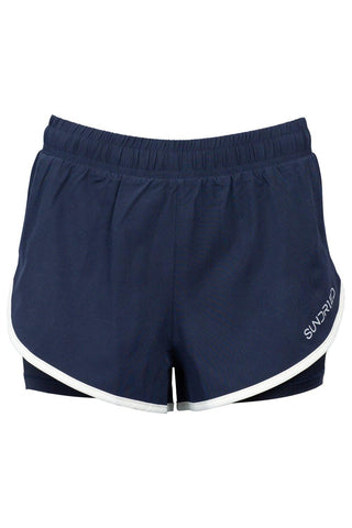 Sundried Legacy Women's Running Shorts Shorts M Navy SD0246 M Navy Activewear