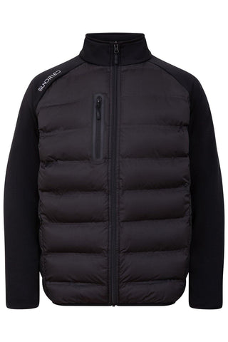 Sundried Monte Viso Men's Padded Jacket Jackets S Black SD0196 S Black Activewear