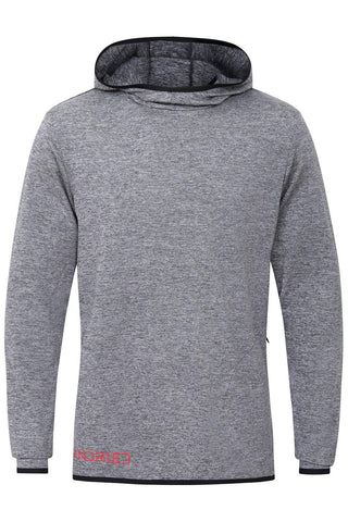 Sundried Horizon Men's Lightweight Hoodie Hoodie M Grey SD0116 M Grey Activewear
