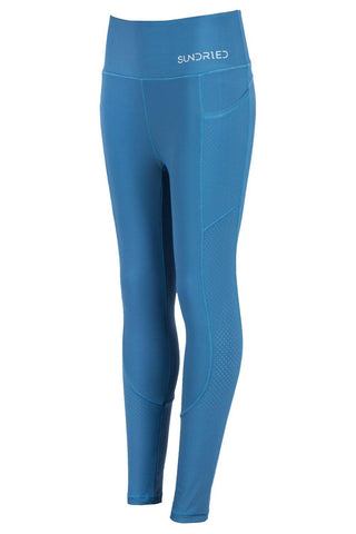 Sundried Infinity Women's Leggings Leggings L Blue SD0156 L Blue Activewear