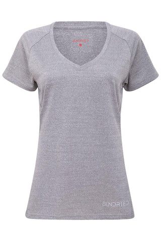 Sundried Escape Women's V Neck T-Shirt T-Shirt Activewear