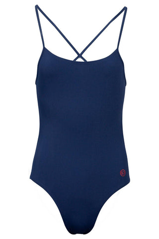 Sundried Kona Women's Swimsuit Swimsuit L Navy SD0203 L Navy Activewear