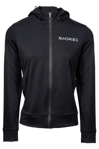 Sundried Women's Sweatshirt Hoodie Hoodie S Black SD0219 S Black Activewear