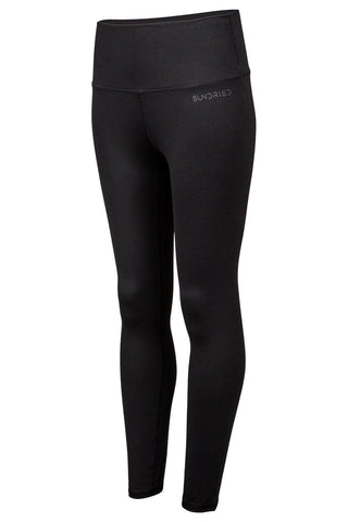Sundried Womens Sport Leggings Leggings XL Black SD0236 XL Black Activewear