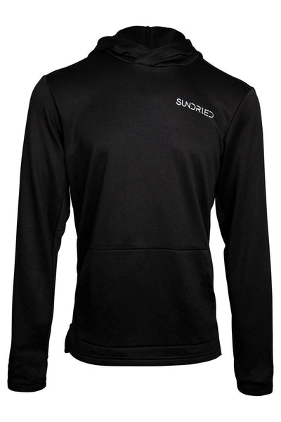 Sundried Men's Hoodie Running Top Hoodie M Black SD0286 M Black Activewear