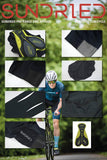 Sundried Stealth Bib Shorts With Side Pocket Cycle Bib Shorts Activewear
