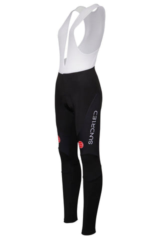 Sundried Rouleur Women's Training Bib Tights Tights XS Black SD0317 XS Black Activewear